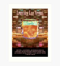 Leaving Las Vegas Movie Poster Art Print