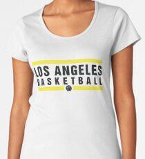 Los Angeles Basketball Design Women s Premium T-Shirt 04ae039f4
