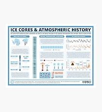 Ice Core Chemistry & Atmospheric History Photographic Print