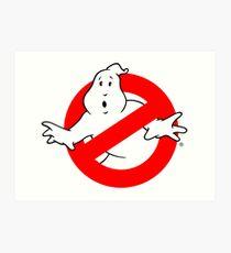 Ghostbusters Logo Art Print