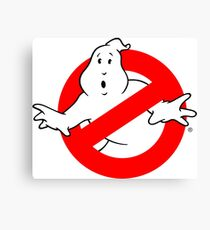 Ghostbusters Logo Canvas Print