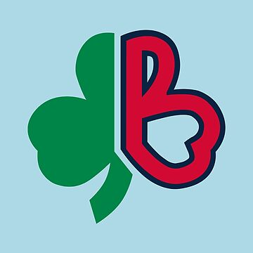 Red Sox Clover Boston by JamesRodriguez