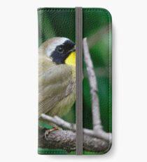 common yellowthroat iPhone Wallet