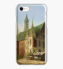 Carl Josef Alois Bourdet, Breslau Town Hall before iPhone Case/Skin