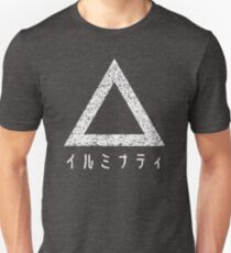 Japanese Illuminati (White) Unisex T-Shirt