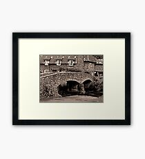 Packhorse Bridge at Allerford, Somerset Framed Print