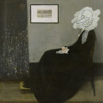Whistler's Mother - Mr. Bean by andraskiss