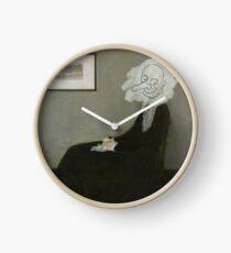 Whistler's Mother - Mr. Bean Clock