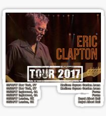 Eric Clapton Tour 2017 Sticker
