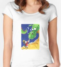 Kaos Adventure! Women's Fitted Scoop T-Shirt