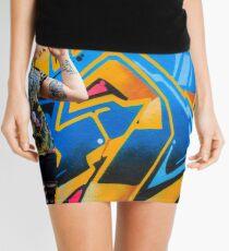 Graffiti model Mini Skirt