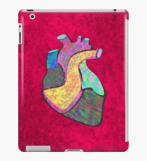 Holographic human heart iPad Case/Skin