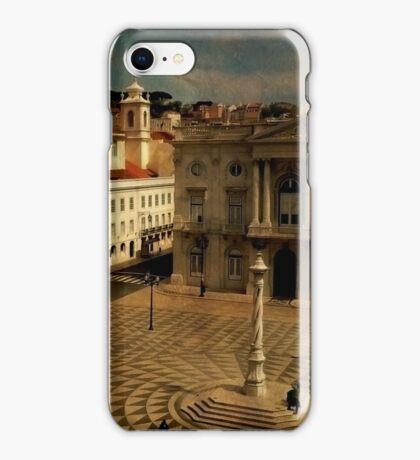Lisbon....Town Hall square. Câmara Municipal de Lisboa iPhone Case/Skin