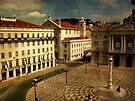 Lisbon....Town Hall square. Câmara Municipal de Lisboa by terezadelpilar ~ art & architecture