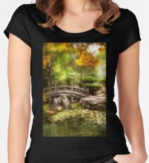 Landscape - Simply paradise Women's Fitted Scoop T-Shirt
