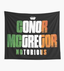 Conor McGregor Notorious Wall Tapestry