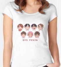 BTS FESTA! Women's Fitted Scoop T-Shirt