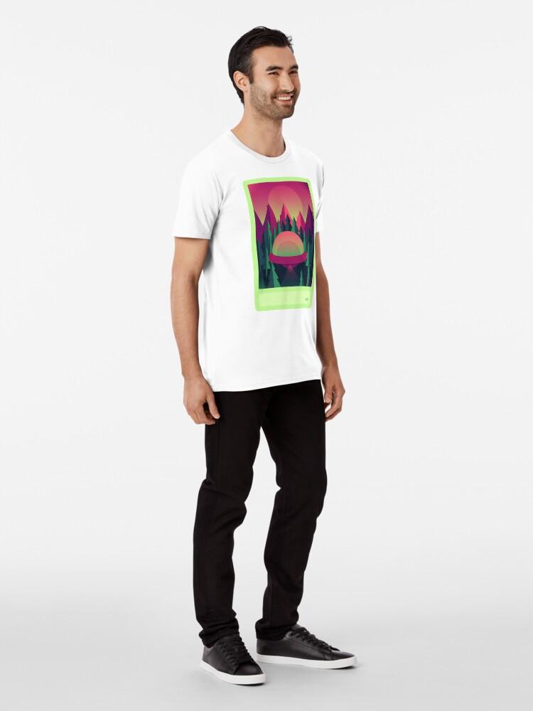 Alternative Ansicht von Beweis # 419 Premium T-Shirt