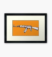 Assault Rifle  Framed Print