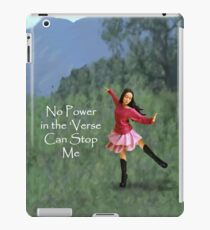 No Power in the Verse iPad Case/Skin