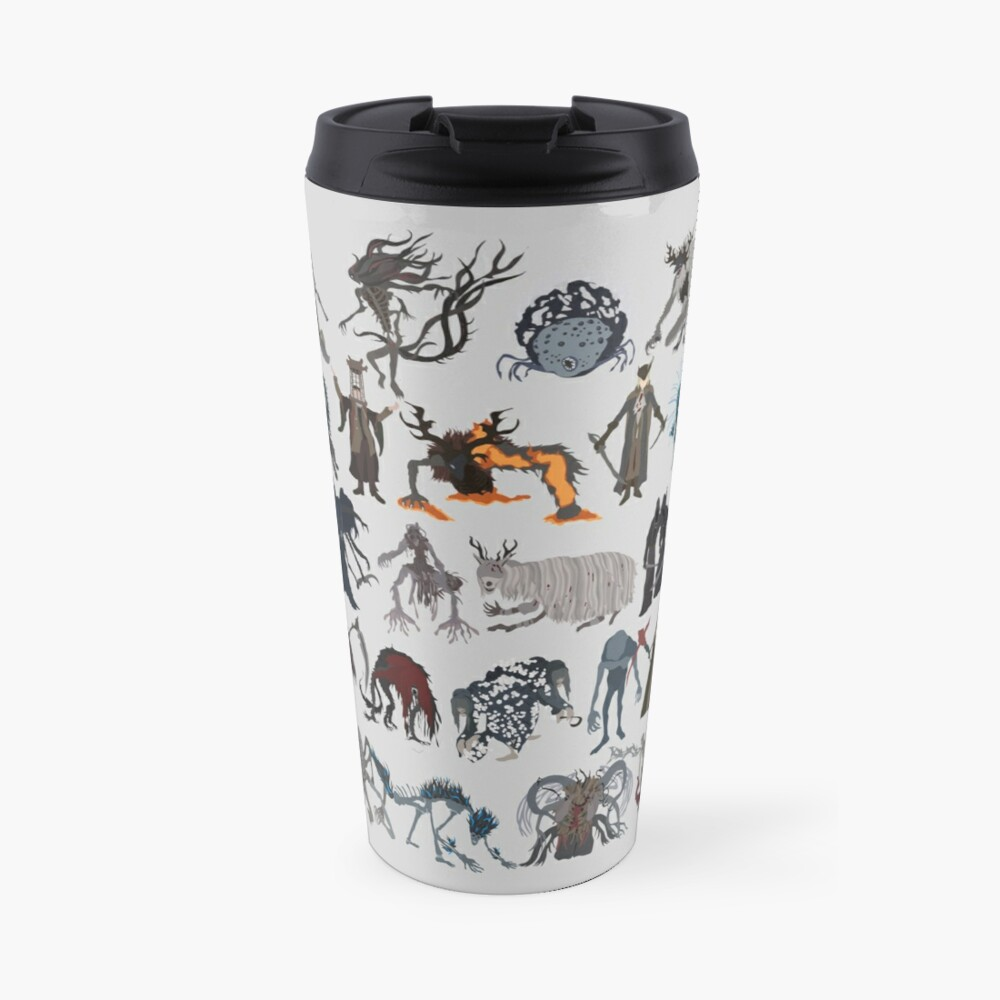 Bloodborne bosses Travel Mug
