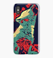 Baby Wolves Vector iPhone Case