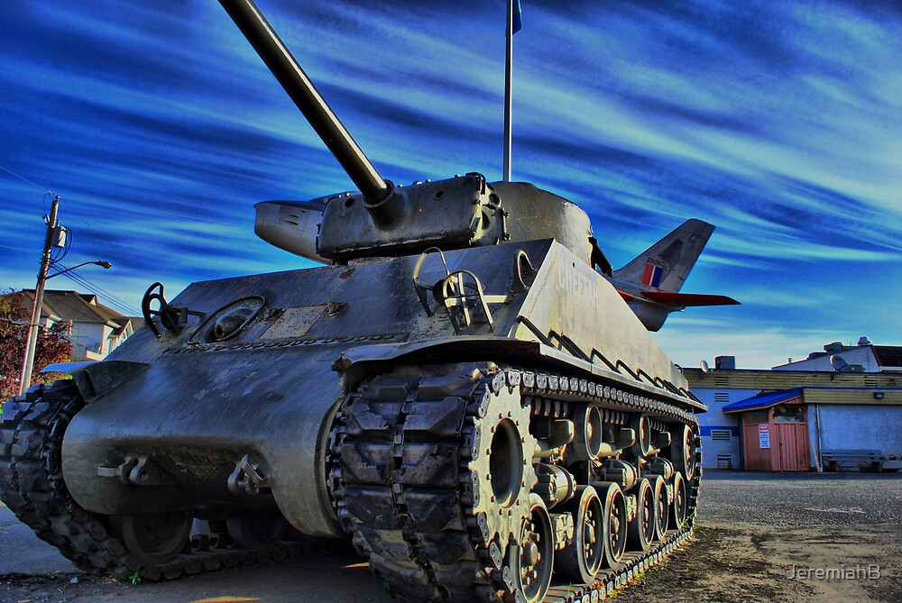 Tank in Victoria by JeremiahB