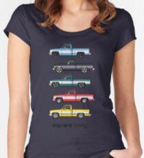 1981-1987 pickup trucks Women's Fitted Scoop T-Shirt