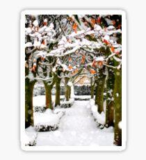 Winter in Oxford Sticker