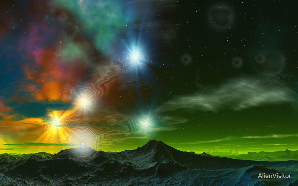 Dimensional Quantum Star Portal by AlienVisitor