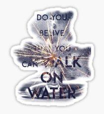 WALK ON WATER - 30 SECONDS TO MARS Sticker