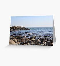 Rye Beach Greeting Card