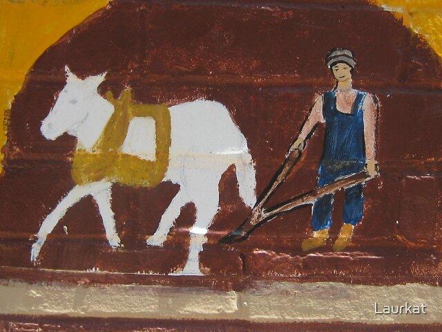 mural plow in June by Laurkat