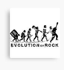 Evolution of Rock Canvas Print