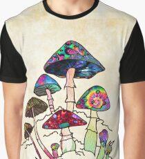 Garden of Shroomz Graphic T-Shirt