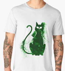 mystery cat halloween Men's Premium T-Shirt