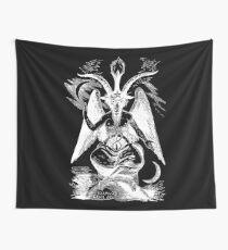 Baphomet - Devil - Sabbatic Goat - Satan 1 Wall Tapestry