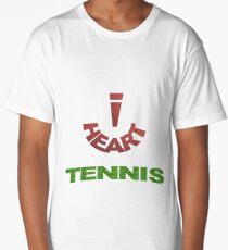 I Heart Tennis Long T-Shirt