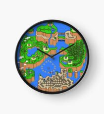 Super Mario World Map Clock