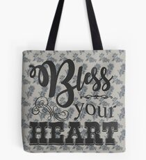 Bless Your Heart - Floral Tote Bag