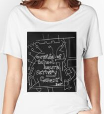 Outside of school hours activity - REVERSI white on black Women's Relaxed Fit T-Shirt