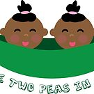Peas in a Pod (girl/girl twins) by TWINS™ Magazine