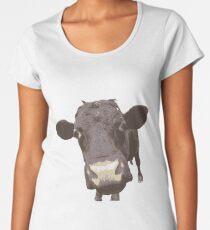 Cute Cow Women's Premium T-Shirt