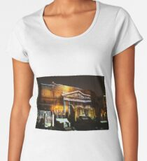 Ancient Rome, abstract city walls, Roman columns Women's Premium T-Shirt