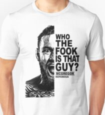 who the fook is that guy Unisex T-Shirt
