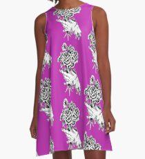 An Undead Bouquet A-Line Dress