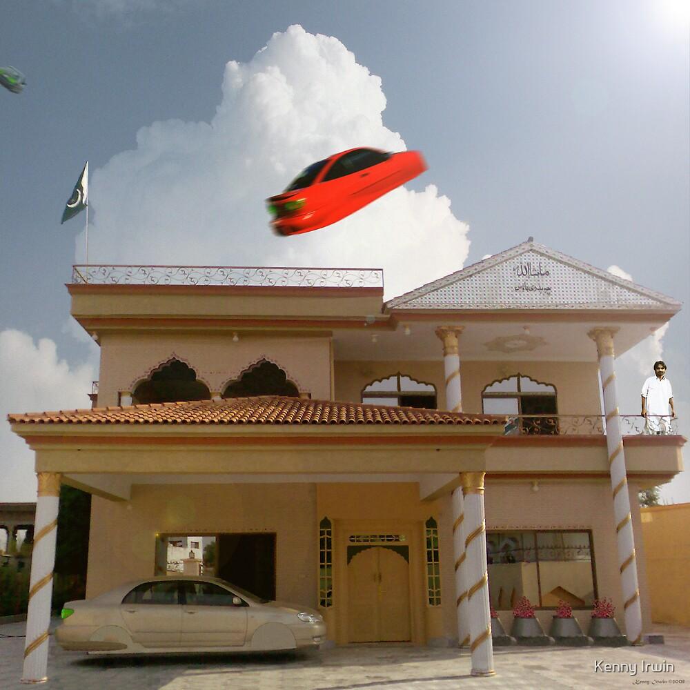 Pakistani Starfleet Commander Sohail Mohammad finally lands at Mamoon Wadi's House by Kenny Irwin