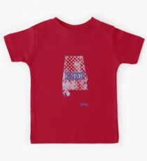 Alabama State - There's No Place Like Home (Blue Version) Kids Clothes