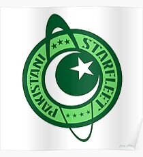 YOUR PAKISTANI STARFLEET Poster