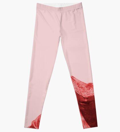 Schüchternes rotes Mädchen Leggings